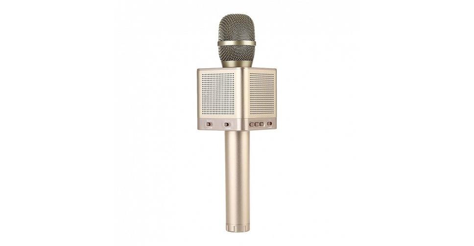 Каталог MicGeek Q10S золотой караоке микрофон